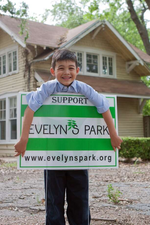 Luke Ritter, 7, has no plans to stop raising money to help build Evelyn's Park in Bellaire. Photo: R. Clayton McKee, Freelance / © R. Clayton McKee