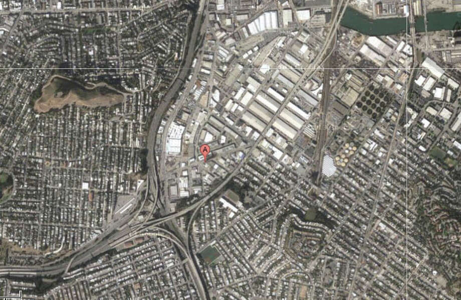 Elmira Street and Industrial Street, San Francisco, CA Photo: Google Maps