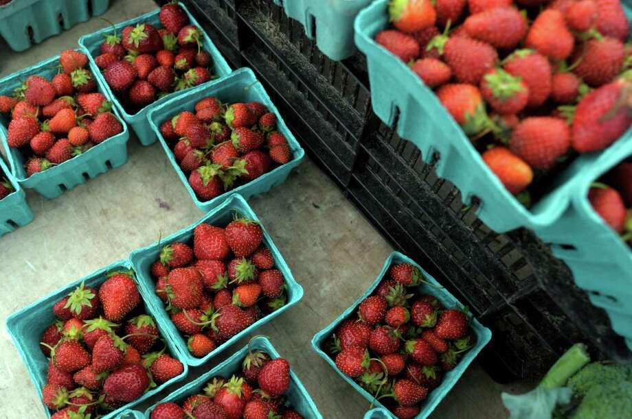 Queensbury Farmers Market, June 2-October 27, 3 p.m - 6 p.m., Mondays, 1012 State Route 9 (Sweet Basil Rest.). Visit Web site.  Photo: Paul Buckowski / 00022952A