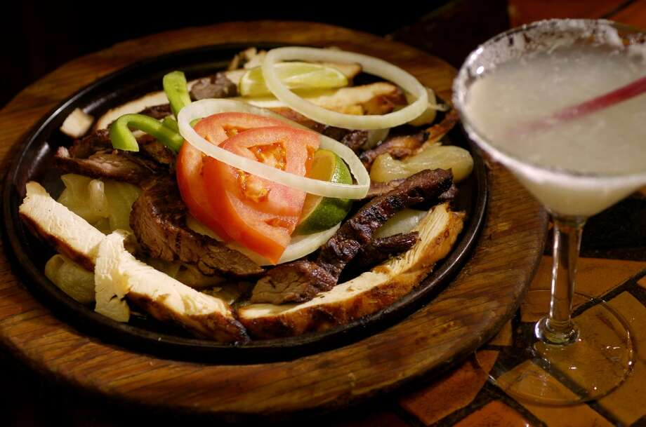 A Fajita combo waits to be eaten while at Spanish Village off Almeda