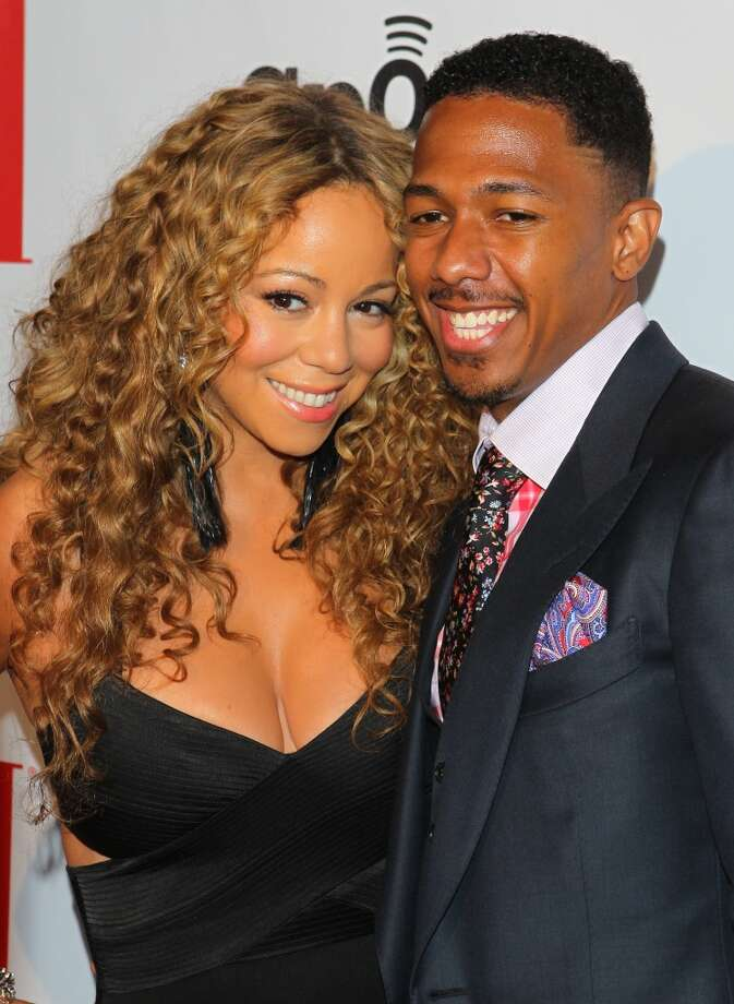 Mariah Carey and Nick Cannon arrive at the 12th Annual BMI Urban Awards held at Saban Theatre on September 7, 2012 in Beverly Hills, California. (Photo by JB Lacroix/WireImage)