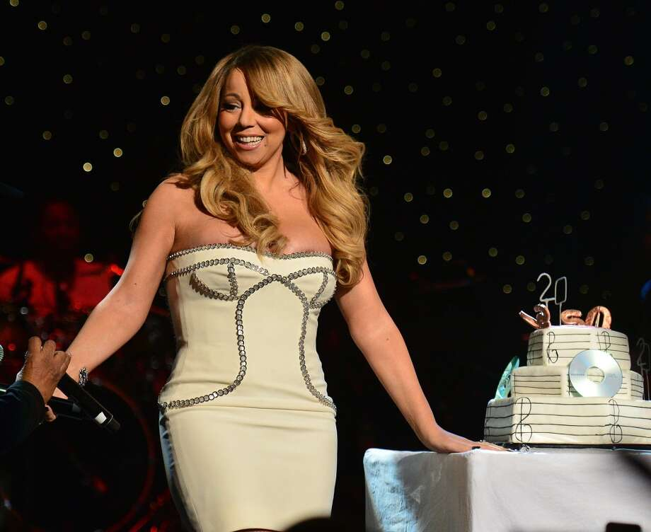 Mariah Carey onstage at the So So Def 20th anniversary concert at the Fox Theater on February 23, 2013 in Atlanta, Georgia. (Photo by Prince Williams/Getty Images)