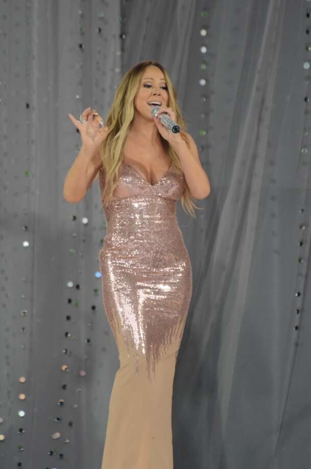GOOD MORNING AMERICA - Mariah Carey performs at the GMA Summer Concert Series, from Central Park in New York City, on GOOD MORNING AMERICA, 5/24/13, airing on the ABC Television Network.   (Photo by Ida Mae Astute/ABC via Getty Images)  MARIAH CAREY
