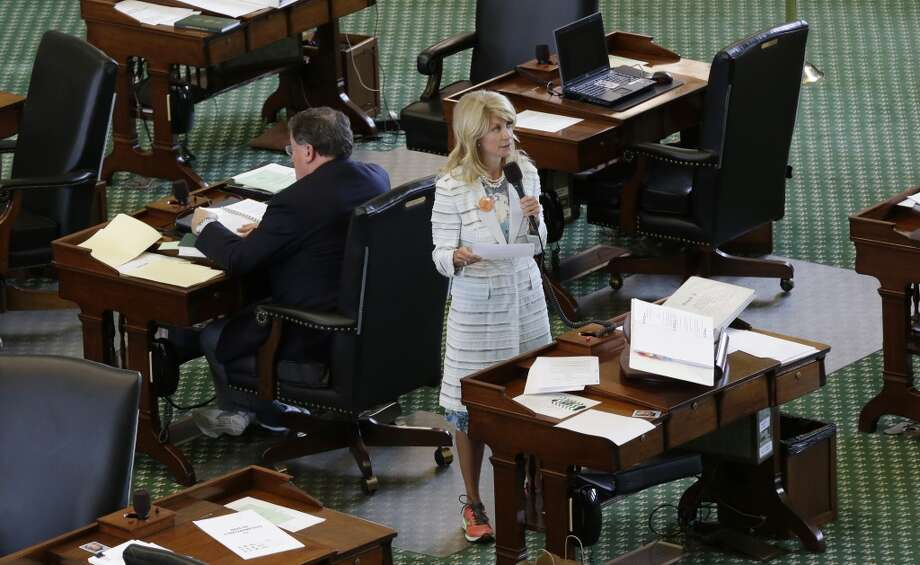 Sen. Wendy Davis Photo: Eric Gay, Associated Press
