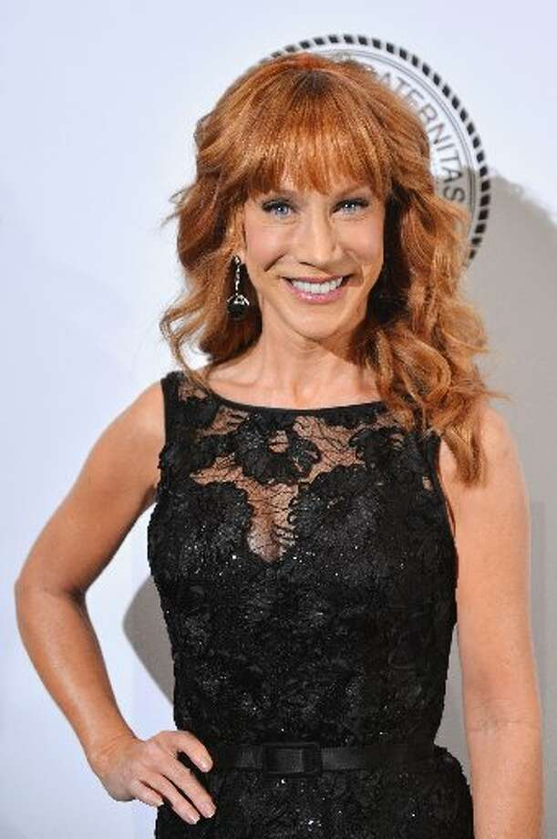 Kathy Griffin got her wedding band tat off after her divorce. Photo: Getty