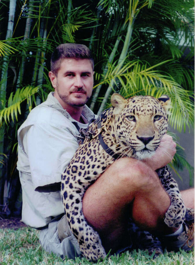 Grant Kemmerer, shown here with one of his big cats, will bring his Wild World of Animals show to the Palace Theatre in Stamford, Conn., for a morning show on Tuesday, July 9, 2013. Tickets are $10. For more information, visit http://www.scalive.org. Photo: Contributed Photo