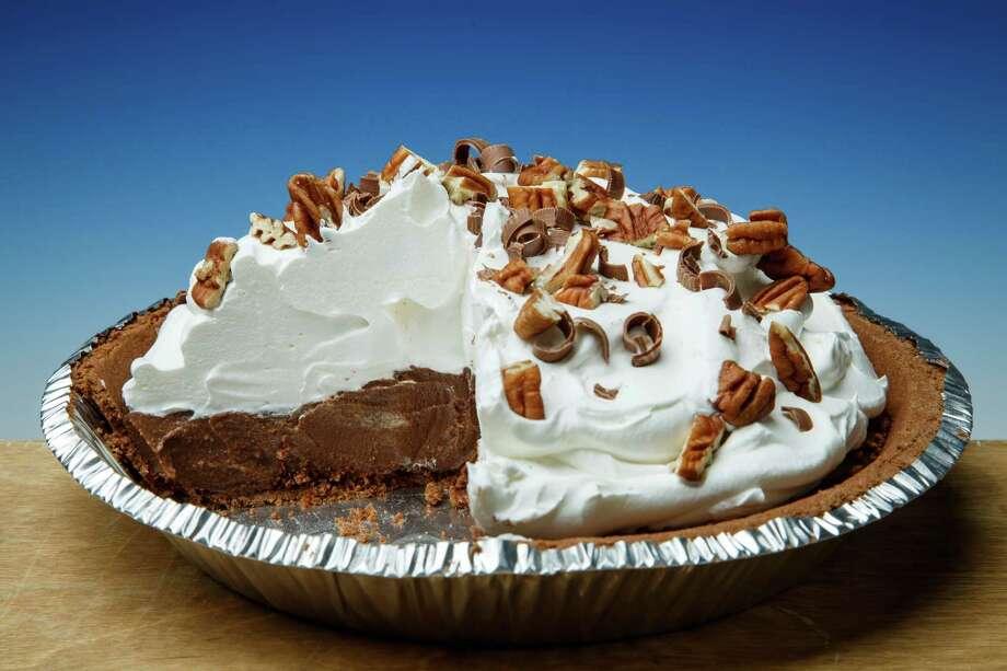 Chocolate Icebox Pie is a popular variety. Photo: Michael Paulsen, Staff / © 2013 Houston Chronicle