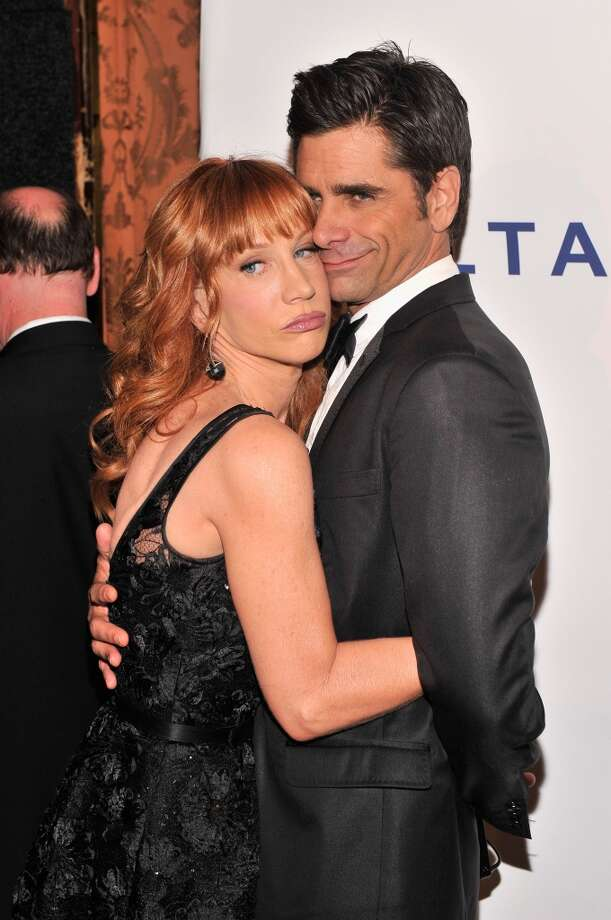 Kathy Griffin and John Stamos attend The Friars Foundation Annual Applause Award Gala honoring Don Rickles at The Waldorf=Astoria on June 24, 2013 in New York City.