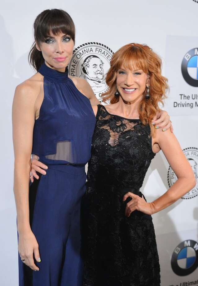 Comedians Whitney Cummings and Kathy Griffin attend The Friars Foundation Annual Applause Award Gala honoring Don Rickles at The Waldorf=Astoria on June 24, 2013 in New York City.