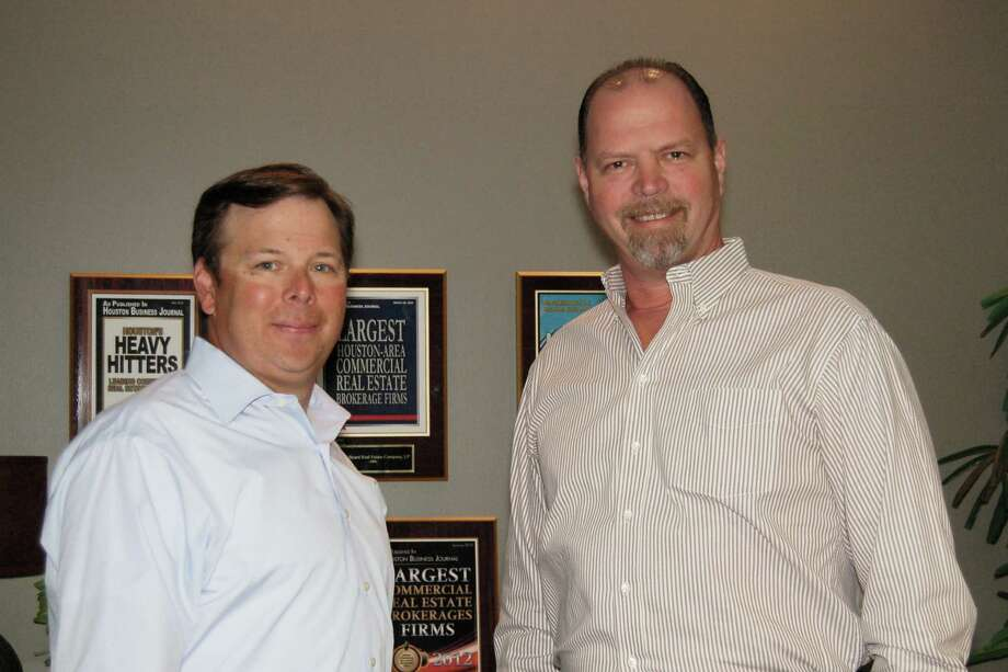 From left,  Jeff Beard, certified commercial investment member and president of J. Beard Real Estate Company, stands with the company's latest addition, Brett Tynes, who will represent buyers and sellers of real estate investment properties. Photo: Provided By J. Beard Real Estate Company
