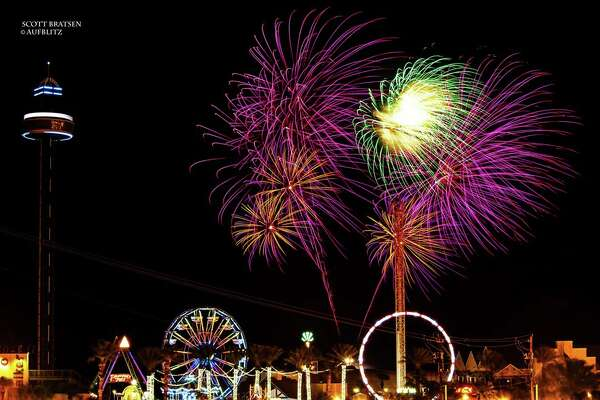 A fireworks show starting at 9:30 p.m. tops off Fourth of July events at Kemah Boardwalk.