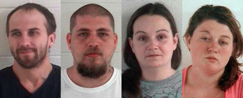 This combination of undated photos released by the Ashland County Sheriff's Office shows, from left, Daniel Brown, Jordie L. Callahan, Jessica L. Hunt, and Dezerah Silsby, who are accused of enslaving a mentally disabled woman and her daughter.  A federal magistrate judge on Monday, June 24, 2013 ruled that there's enough evidence against them to send the case before a grand jury. Judge Nancy Vecchiarelli made the ruling against Callahan and Hunt in the case and ordered them locked up pending trial. Brown skipped a chance to ask for pretrial release, and Silsby was freed last week to await trial. (AP Photo/Ashland County Sheriffs Office, File) Photo: Uncredited, HOPD / Ashland County Sheriffs Departme