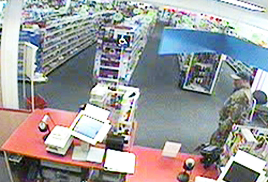 Saratoga Springs police released this image as part of their investiagion into a robbery at CVS on Broadway. (Saratoga Springs police)