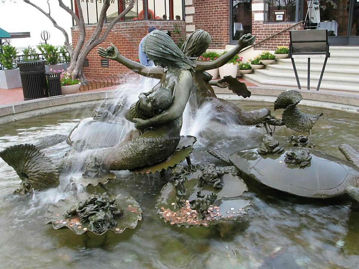 Andrea, Cast Bronze Mermaids, 1968 Ghirardelli Square 900 Northpoint Street