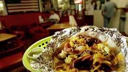 66. VILLA ARCOS: Bacon Super Taco. (Melissa Phillip : 29-95)