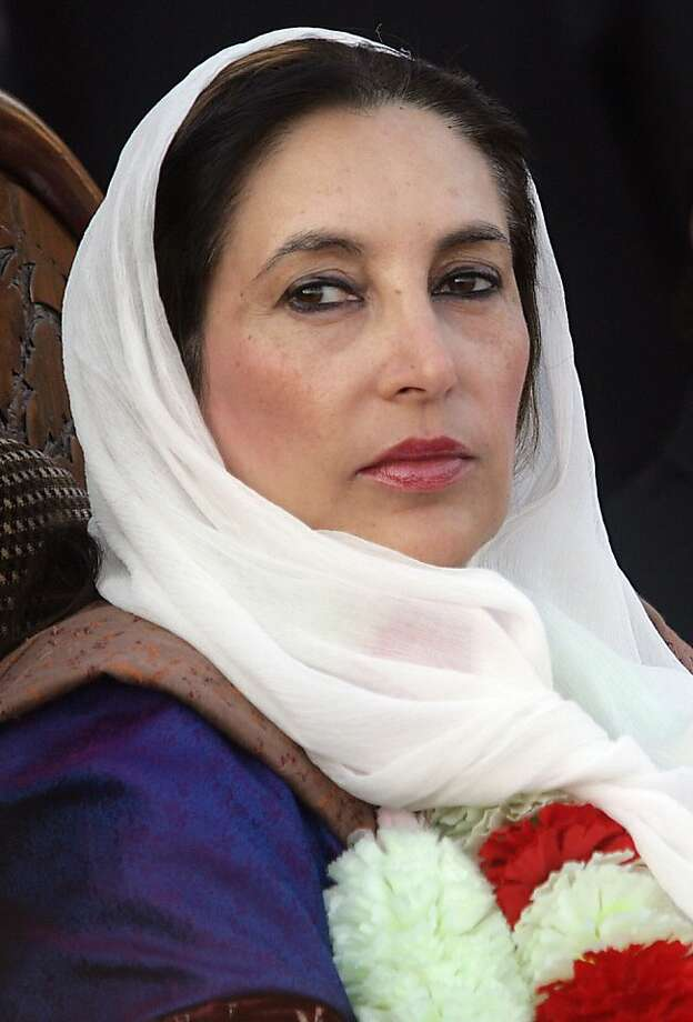 Benazir Bhutto Photo: Aamir Qureshi, AFP/Getty Images