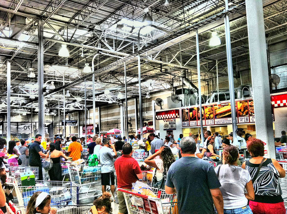 Hate even more: Navigating your cart on a weekend at Costco. The worst. 