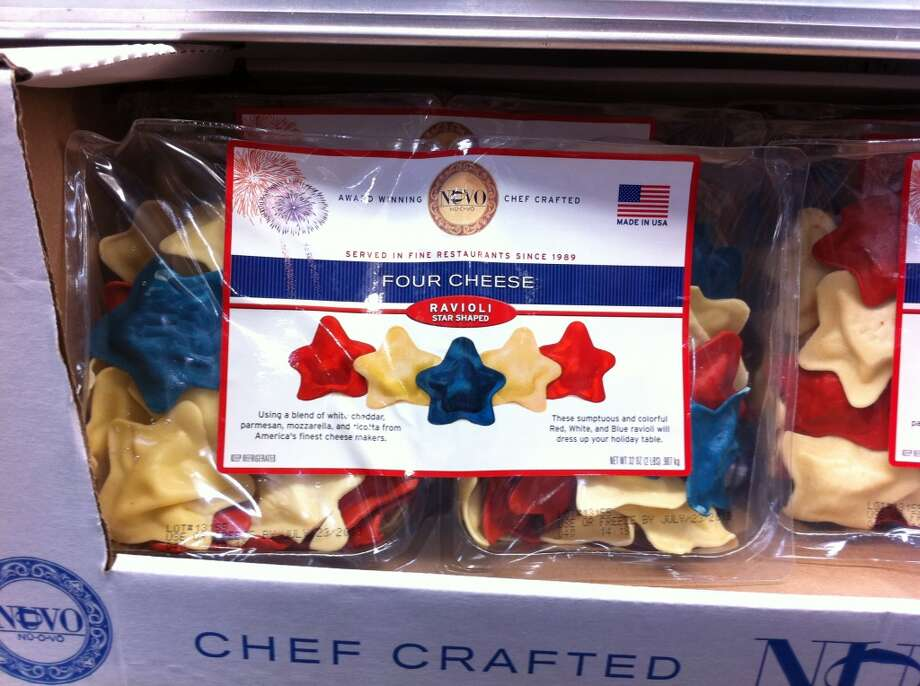 Hate:The random food you end up buying when you went for the chicken and spotted some colored ravioli ''stars.''
