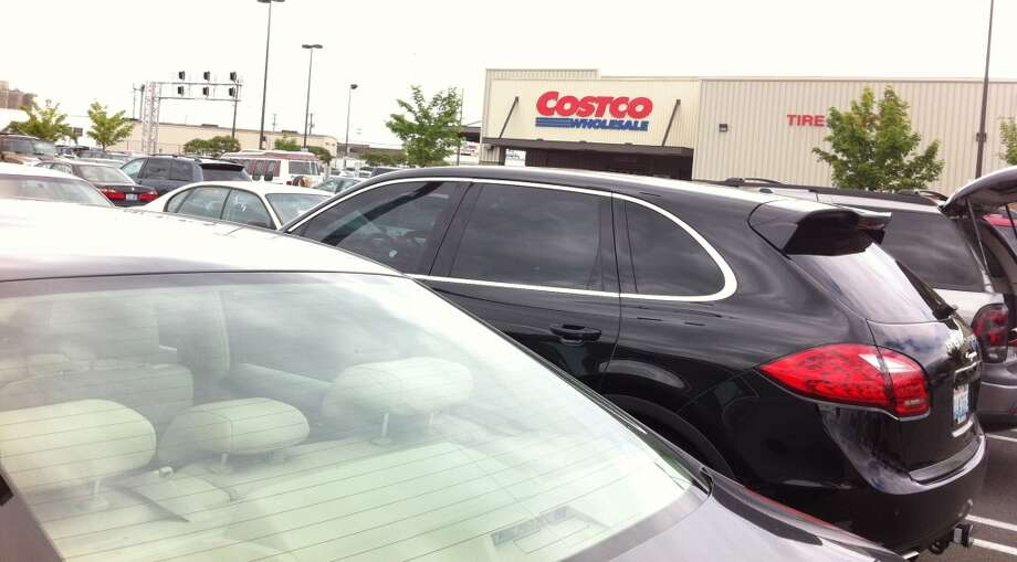Hate:Parking on the weekend at Costco.