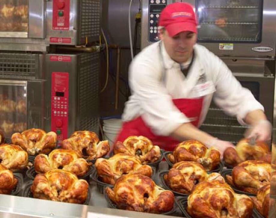 Costco also sold 62 million rotisserie chickens last year. Photo: Photo Courtesy Costco