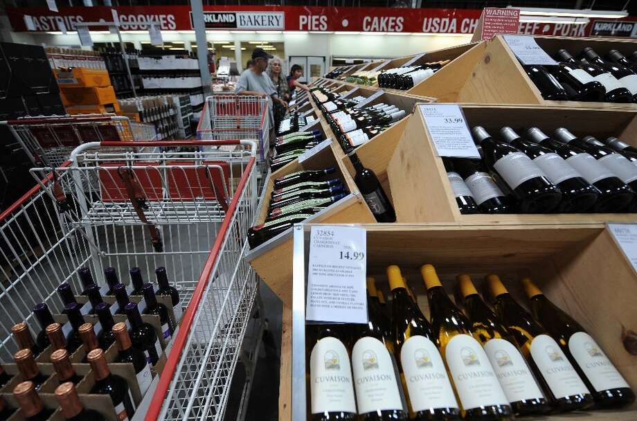 Costco is a big player in the wine industry, selling $1.4 billion a year in wine, which includes global labels and the company's own brand. Photo: GABRIEL BOUYS, AFP/Getty Images / 2008 AFP