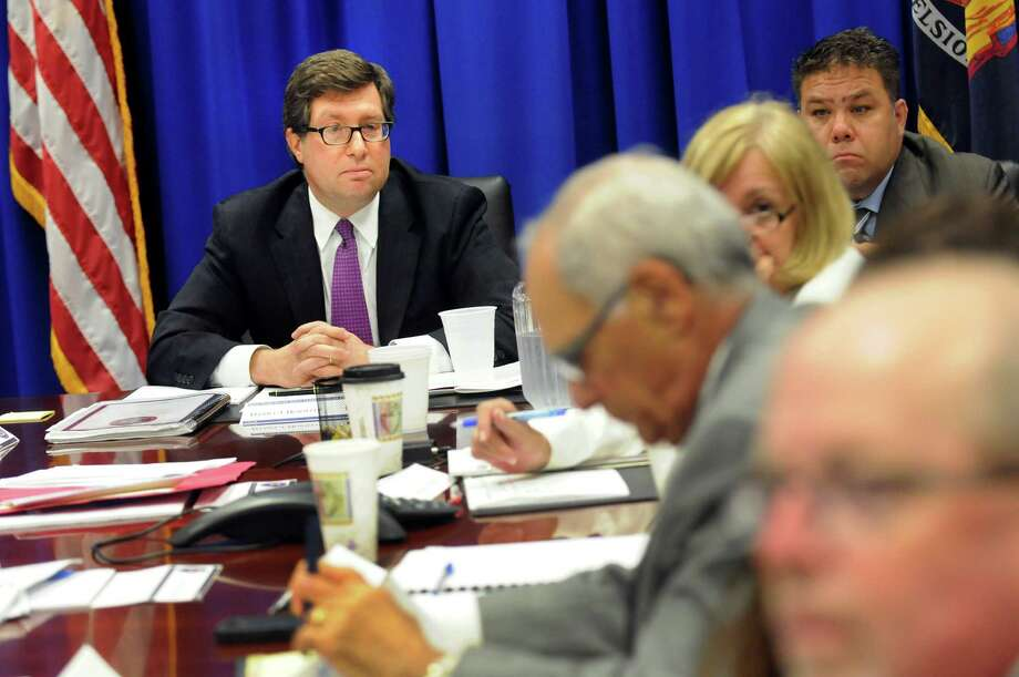 Chairman Daniel Horwitz, left, during a meeting of the New York State Joint Commission on Public Ethics on Tuesday, June 25, 2013, in Albany, N.Y. (Cindy Schultz / Times Union) Photo: Cindy Schultz / 00022955A