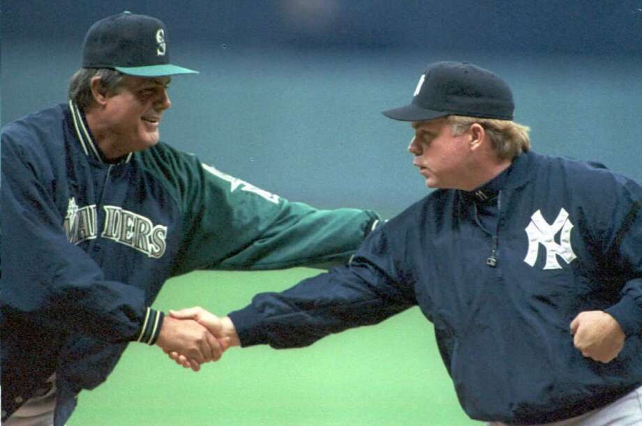 Seattle Mariners vs. New York Yankees (circa 1995)   Let's face it, everyone hates the Yankees. But this rivalry took shape in 1995 during one of the most memorable stretches in Seattle sports history. It culminated in the '95 American League Divisional Series with a Double, a Mariners dogpile and a Dave Niehaus call that still sends chills down fans' spines.  The rivalry has lost its luster since, but Safeco still fills up whenever the Yankees come to town. And thus the rivalry lives on. Photo: Vince Bucci, AFP / Getty Images