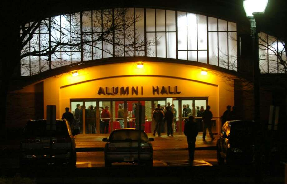 Alumni Hall on the campus of Fairfield University, in Fairfield, Conn. Dec. 9th, 2009. Photo: Christian Abraham / Connecticut Post