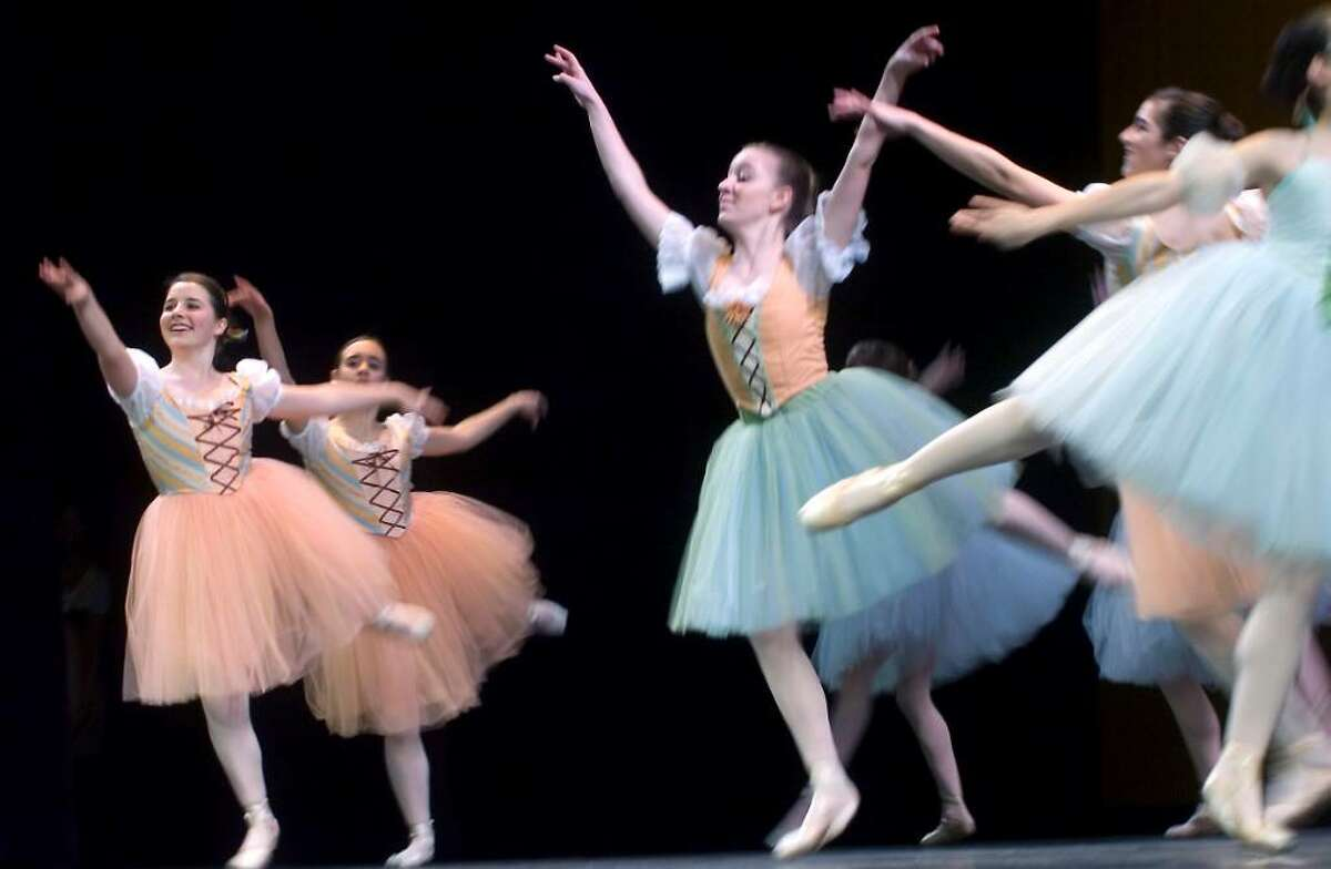 """Members of The Ballet School of Stamford perform at """"A Thousand Stars Shine Together"""", A Gala Inaugural Celebration at The Palace Theater in Stamford, Conn. on Friday, January 15, 2009."""