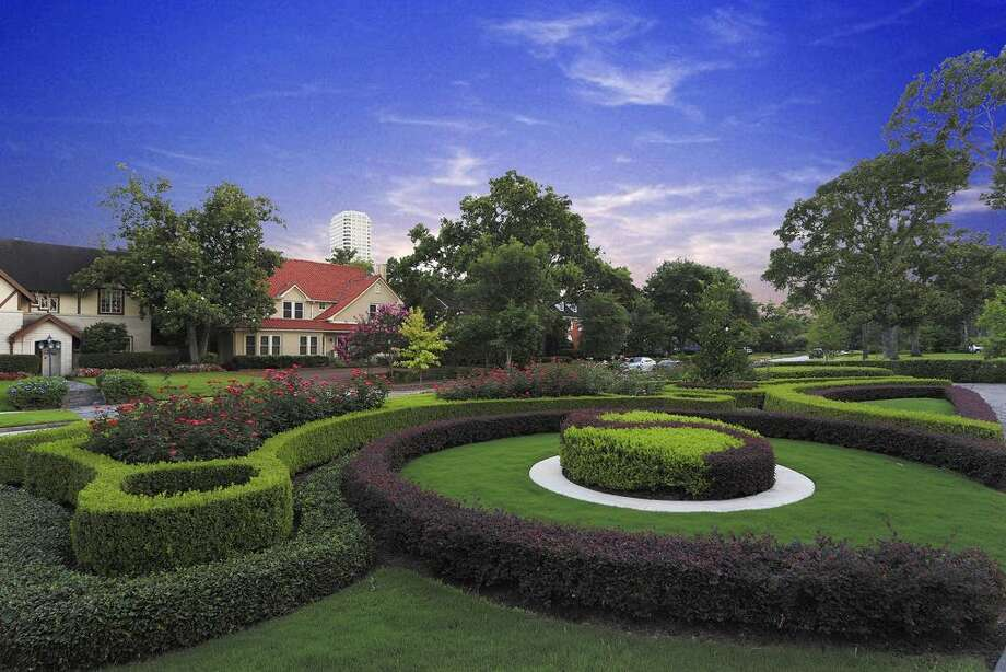 Manicured formal French gardens welcome you to this glorious home.