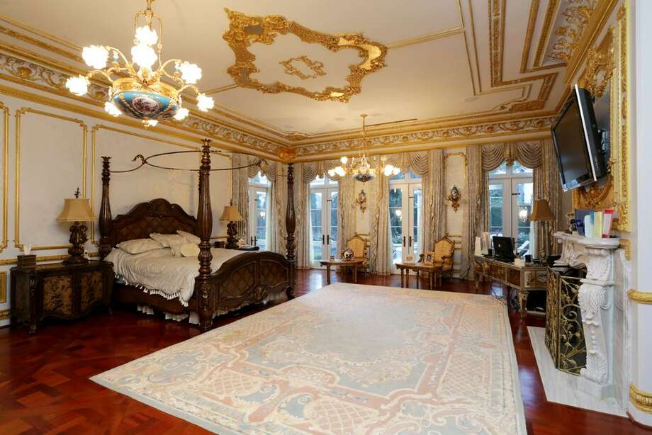 The third facet of the Owner's Retreat is the Sleeping Chamber. Reminiscent of the grandest suite at Hotel de Crillion in Paris this chamber has a wood burning fireplace with marble mantle piece, wood floors and elegance abounding.
