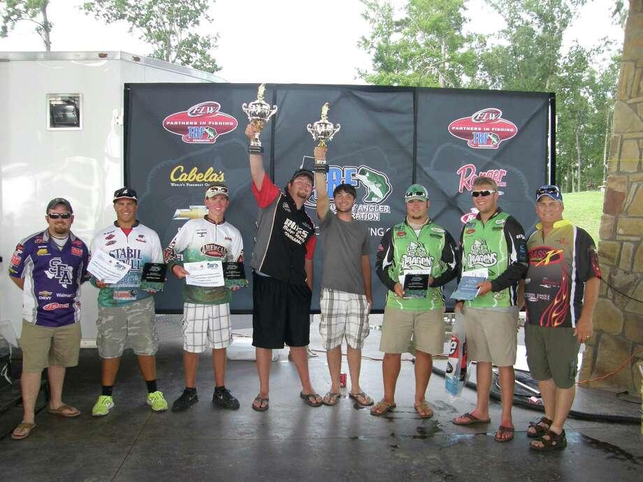 Winners at the 1st Annual High School Fishing Turnament on Sam Rayburn courtesy photo
