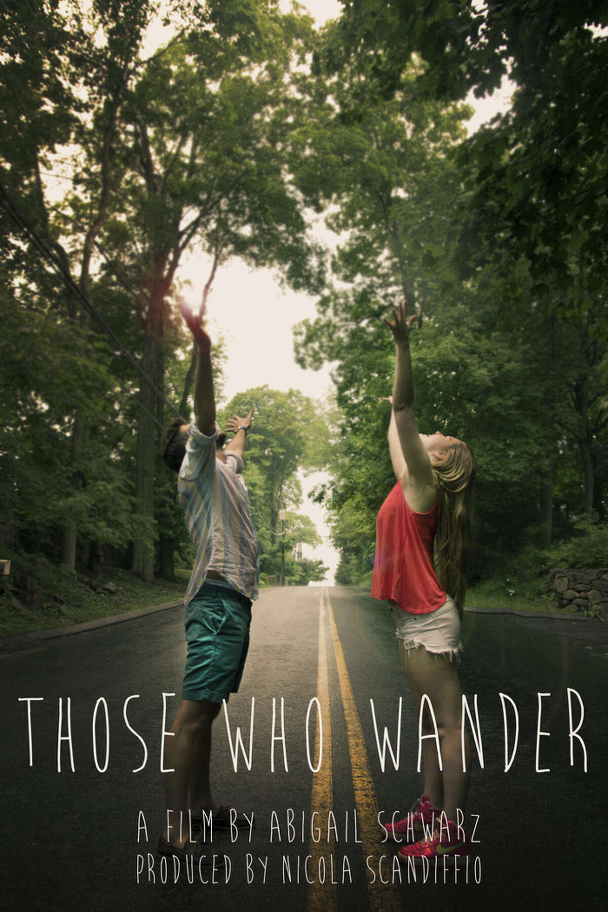 """""""Those Who Wander"""" is a feature-length film written by NCHS grad Abigail Schwarz and to be shot by NCHS grad Nico Scandiffio. The pair plans on shooting the film in New Canaan over the summer."""