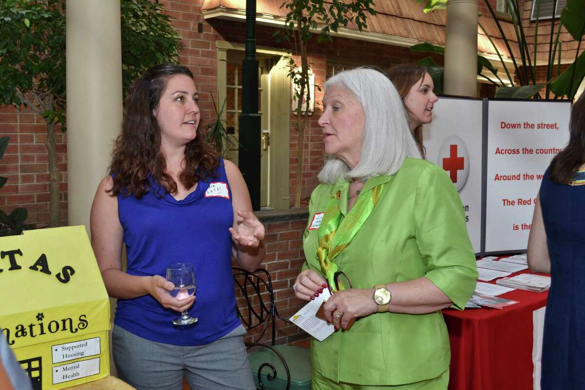 Were you Seen at the Women@Work Connect event 'Get Involved', featuring guest speaker Mona Golub and a number of local charities, at The Desmond in Colonie on Tuesday, June 25, 2013?