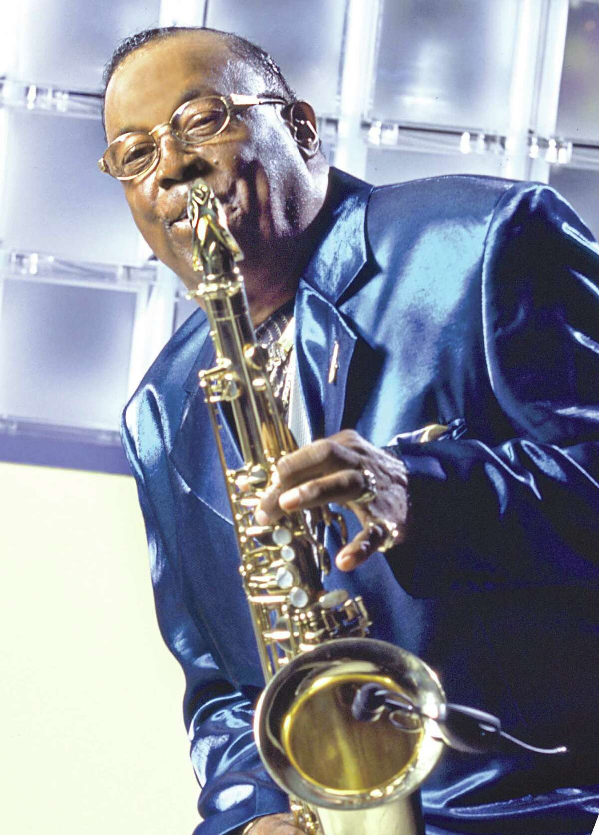 Grady Gaines & The Texas Upsetters will perform on Sept. 19, 2004 for a free concert at Miller Outdoor Theatre.