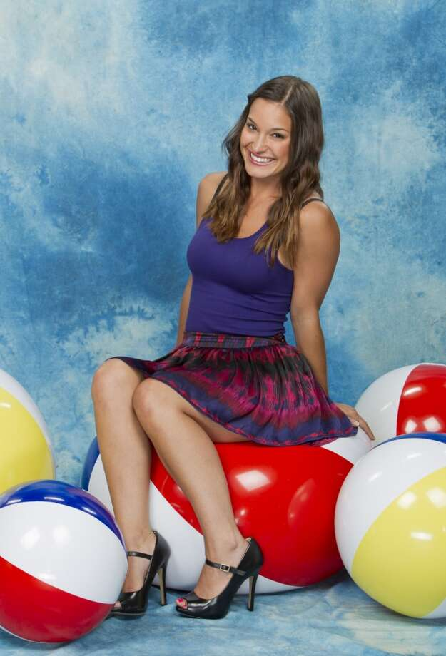 """Jessie Kowalski, who was housemates with Gries on the 15th season of """"Big Brother,"""" hails from San Antonio. Photo: Sonja Flemming, CBS"""