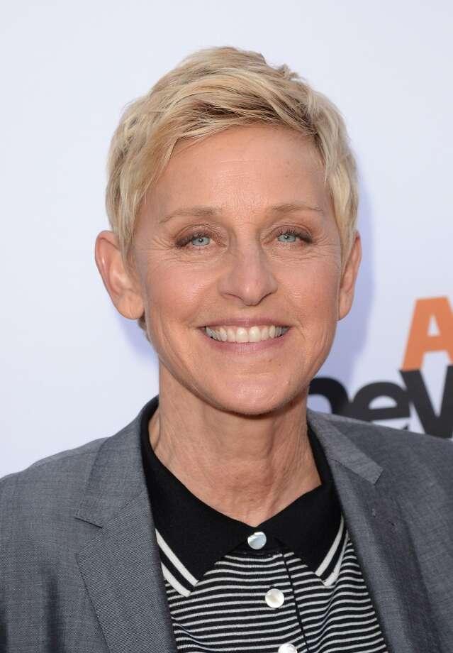 10:  Ellen DeGeneres
