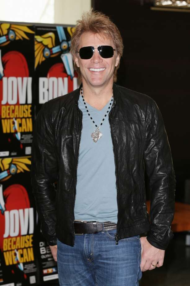 7:  Bon Jovi