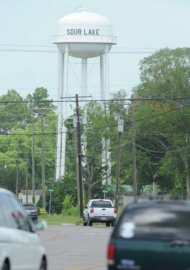 An additional water tower was constructed in Sour Lake to match with the increase of population.  Photo taken June 20, 2013 Guiseppe Barranco/The Enterprise Photo: Guiseppe Barranco, STAFF PHOTOGRAPHER / The Beaumont Enterprise