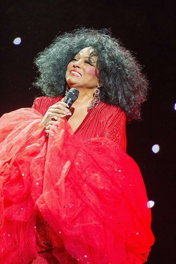Diana Ross performing