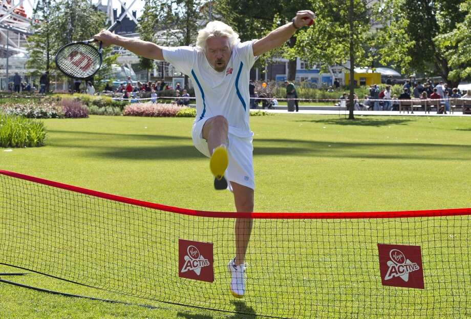 LONDON, ENGLAND - JUNE 14:  Sir Richard Branson attends a photocall to celebrate the start of the Wimbledon championships with Virgin Active at London Eye on June 14, 2013 in London, England.  (Photo by Ben A. Pruchnie/Getty Images)