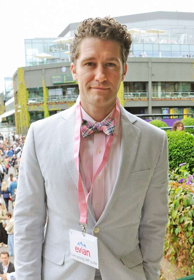 """Glee"" star Matthew Morrison attends the evian 'Live Young' Suite at Wimbledon on June 24, 2013 in London, England.  (Photo by Dave M. Benett/Getty Images for evian)"