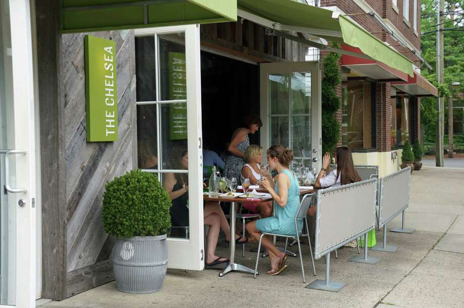With zoning approval and a signed lease in place, The Chelsea has its outdoor patio back. Photo: Genevieve Reilly / Fairfield Citizen