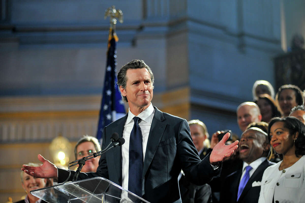 California Gov. Gavin Newsom received a 79% approval rating in response to shutting down California and slowing the climb of the COVID-19 pandemic.