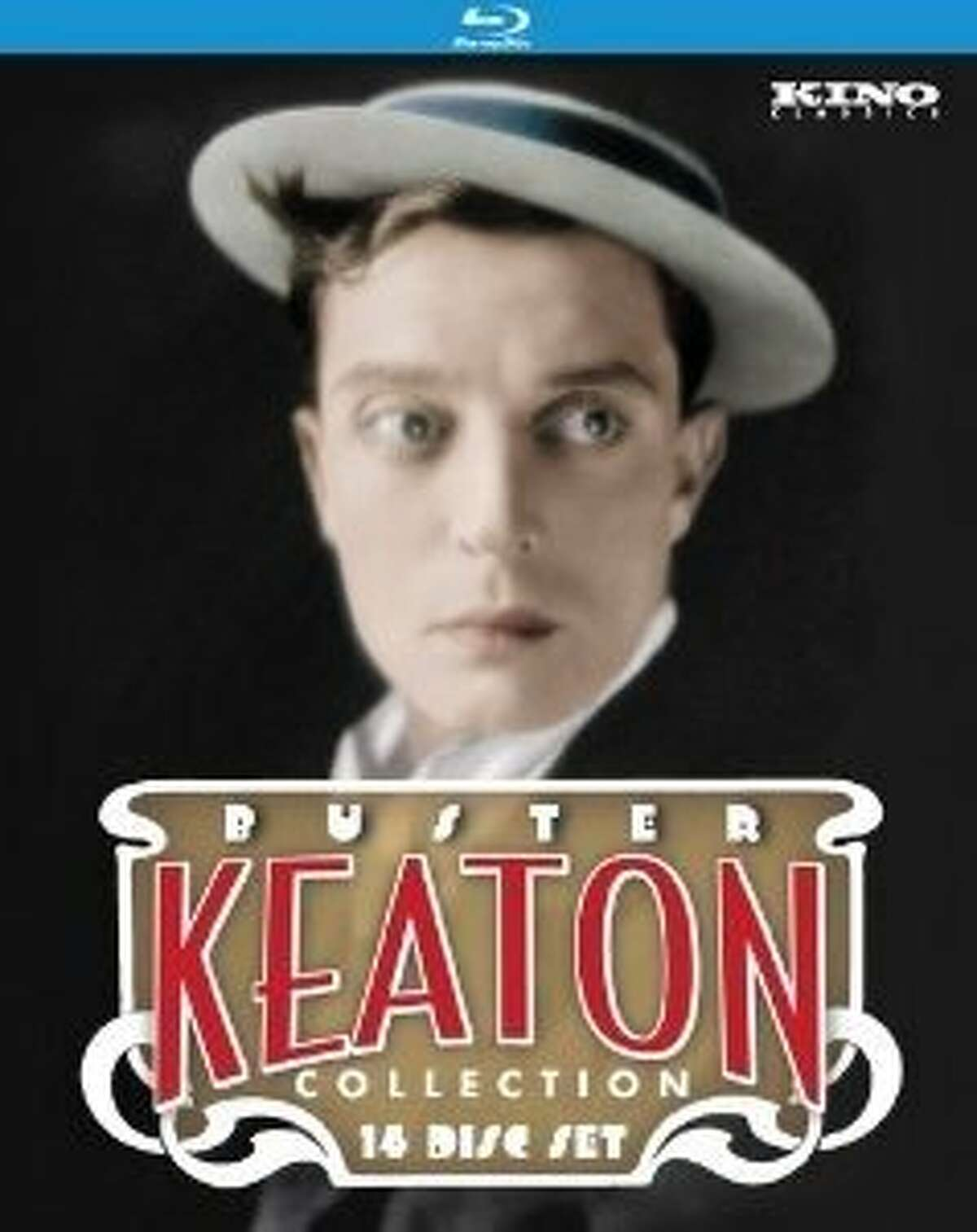 dvd cover BUSTER KEATON COLLECTION