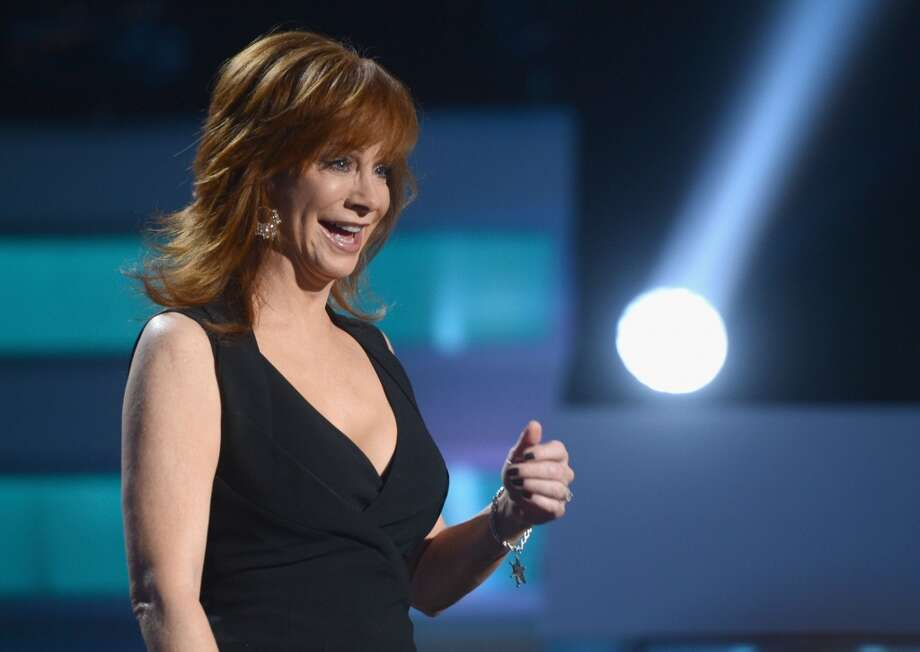 Reba's 2013 look isn't really a mullet, but we still see the mullet spirit here.