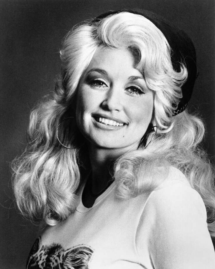 Dolly Parton has mostly gone for big and blond.