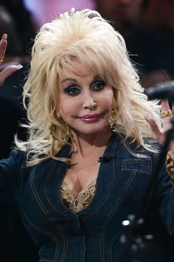 Dolly, shown here in 2012, has since abandoned the mullet.