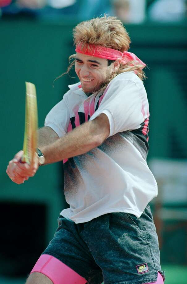 In what is probably the biggest mullet scandal of all time, tennis star Andre Agassi admitted in 2009 that his famous French Open mullet was actually a wig.