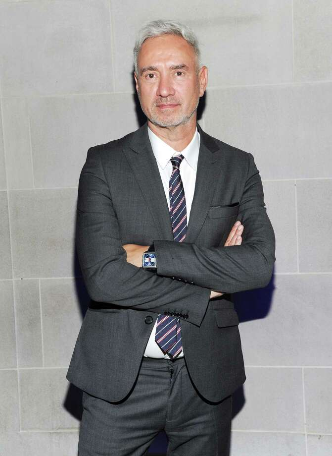 "Director Roland Emmerich attends the ""White House Down"" premiere party at The Frick Collection on Tuesday, June 25, 2013 in New York. (Photo by Evan Agostini/Invision/AP) ORG XMIT: NYEA203 Photo: Evan Agostini, AP / Invision"